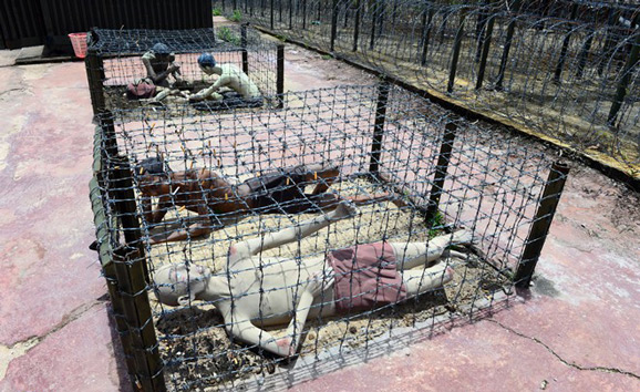 Phu Quoc Prison - Tiger cages